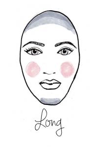 long face chart